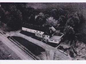"""Gasthaus """"Zur schönen Aussicht"""" um 1960"""